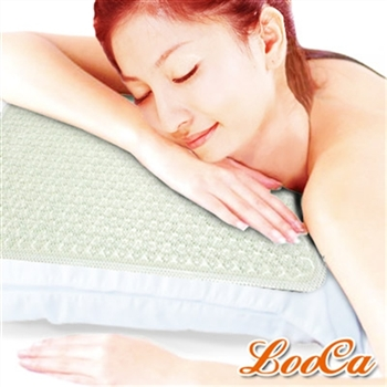 【LooCa】3D Air Mesh超涼感凝膠枕墊-透明晶色