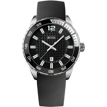 Hugo Boss 都會經典爵士腕錶-黑 H1512885