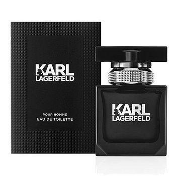 KARL卡爾同名時尚男性淡香水50ml贈小香隨機*1