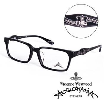 Vivienne Westwood龐克徽章眼鏡(黑)AN24101