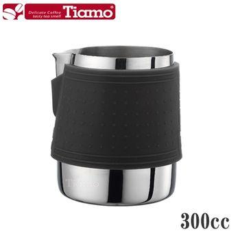 【Tiamo】1029拉花杯 300cc-黑色(HC7063)