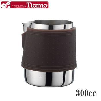 【Tiamo】1029拉花杯 300cc-咖啡色(HC7064)