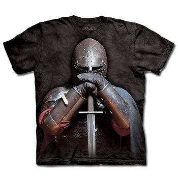 【摩達客】預購-The Mountain 盔甲騎士 T恤(男)