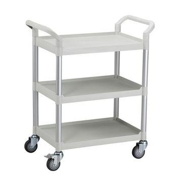 【COLOR】OA精緻標準型3層工具/餐推車(高級儀器輪)