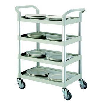 【COLOR】OA精緻標準型4層工具/餐推車(高級儀器輪)