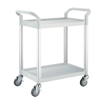 【COLOR】OA精緻標準型2層工具/餐推車(高級儀器輪)