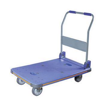 【COLOR】OA型塑鋼折疊手推車(300kgs)