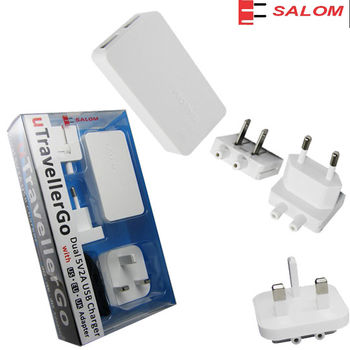【SALOM】ICT3 萬用USB充電器