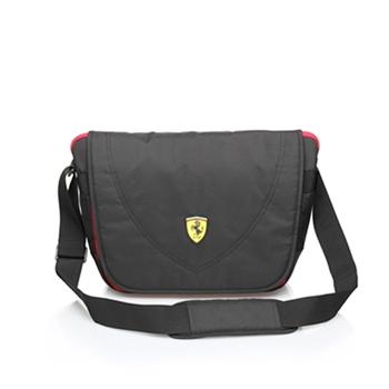 Ferrari 法拉利 大側背包TF007B-B(黑色)