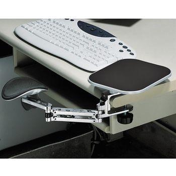 得力助手 鋁合金豪華護手臂-附光學鼠墊 SH-2000