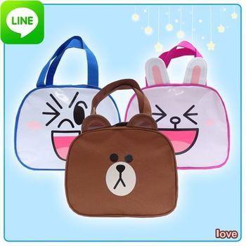 【LINE FRIENDS】正版授權 造型便當收納袋(三款)