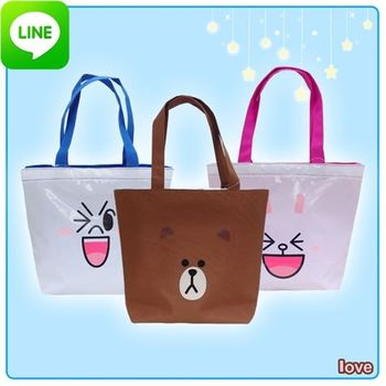 【LINE FRIENDS】正版授權 造型萬用收納袋(三款)