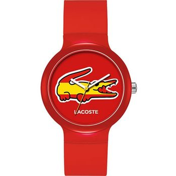 Lacoste 國旗系列世足賽熱血錶-西班牙 L2020071