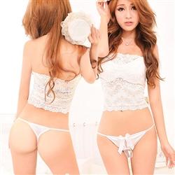 薇珍妮 清純佳人 甜心東森購物客服電話緞結丁字褲