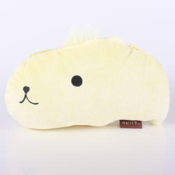 【kapibarasa】水豚君系列毛絨公仔車票夾 陽光君