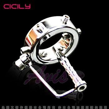 【CICILY】新型束縛睪丸 馬眼情趣導尿管