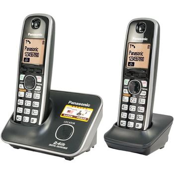Panasonic 2.4G雙手機無線電話KX-TG3712平輸