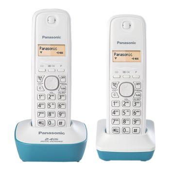 Panasonic 2.4G雙手機無線電話KX-TG3412平輸