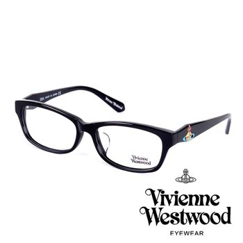 Vivienne Westwood 立體浮雕七彩特大土星環款(黑)