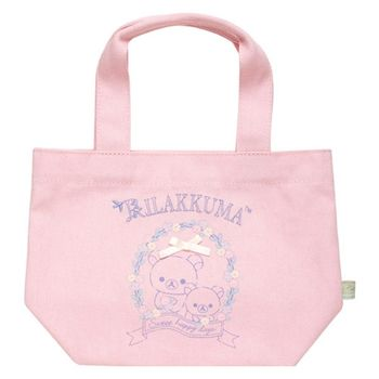 【SAN-X】拉拉熊快樂甜心系列帆布手提袋