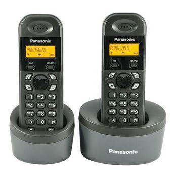 Panasonic DECT數位雙手機KX-TG1312 圓座
