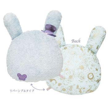 【SAN-X】魔幻馬戲團無名花園系列大頭兔耳抱枕