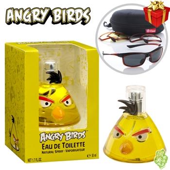 【Angry Birds憤怒鳥】衝刺鳥Yellow女香樂跑超值組