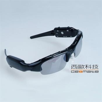 西歐科技 P2000太陽眼鏡造型多功能錄影機