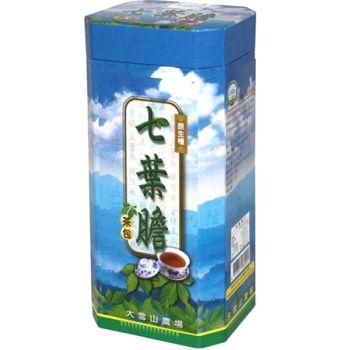 【大雪山農場】七葉膽茶(買1大盒送2小盒)共1組