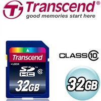 Transcend創見 32G CLASS10 SDHC高速記憶卡
