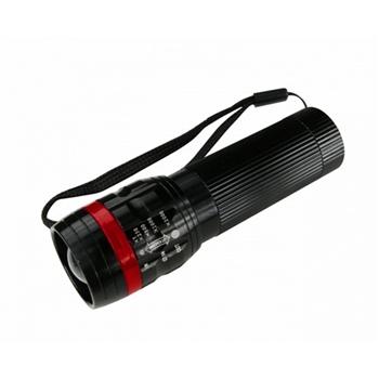 【KINYO】100流明超亮晶片伸縮手電筒LED-608