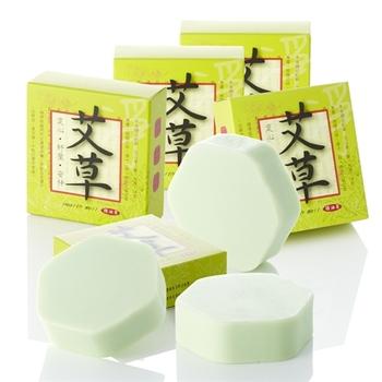 【手作坊】祈福好運淨化平安艾草皂(6入)66大順特價組
