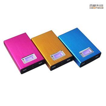 西歐科技 CME-PB061 雙USB 12000mha行動電源
