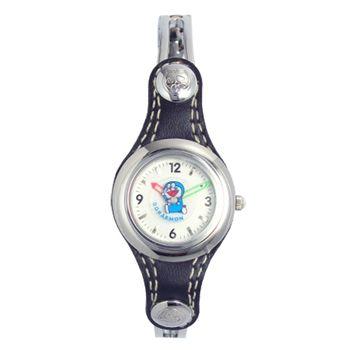 哆啦A夢牛仔風格手環錶