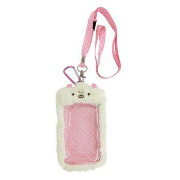 【UNIQUE】動物樂園毛絨手機背袋 小綿羊