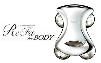 Refa For Body太陽能鉑金四爪滾輪按摩器