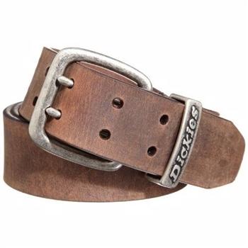 【Dickies】2014男仿古棕色雙爪鎳扣皮革皮帶