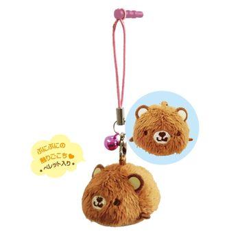 【UNIQUE】動物樂園掌心沙包小公仔 小棕熊