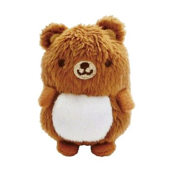 【UNIQUE】動物樂園沙包小公仔 小棕熊