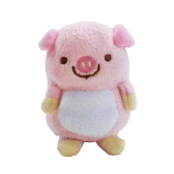 【UNIQUE】動物樂園沙包小公仔 粉紅豬