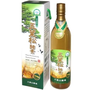 【大雪山農場】五葉松酵素(600mlx2瓶)