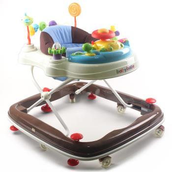 【BabyBabe】360度旋轉靜音嬰幼兒學步車