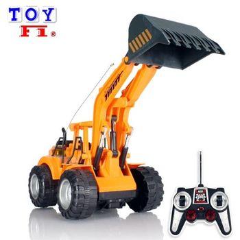 【Toy F1】無線遙控挖土機(充電款)
