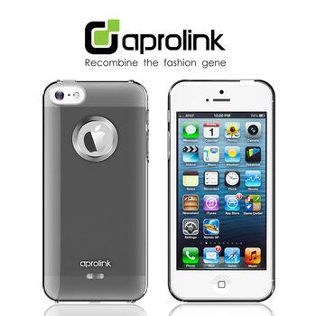 【aprolink】iPhone 5/5S 無鑽鋁環寶石漸層保護殼
