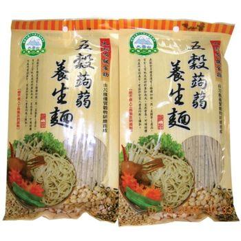 【大雪山農場】五穀蒟蒻養生麵(250gx6包)