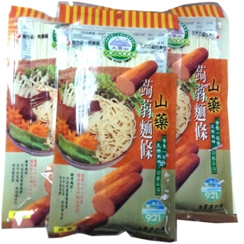 【大雪山農場】山藥蒟蒻麵條(250gx6包)