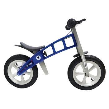 【FirstBike】寓教於樂-兒童滑步車/學步車(帥氣藍)