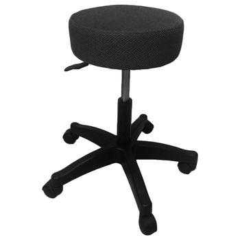 【凱堡】圓型轉轉椅/氣壓椅/吧檯椅/工作椅-活動輪