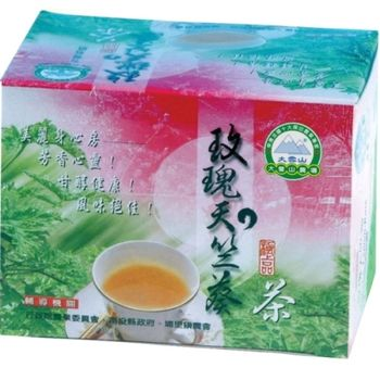 【大雪山農場】玫瑰天竺葵茶包(10包/盒)共10盒