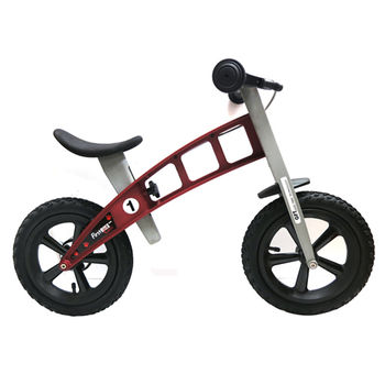 【FirstBike】寓教於樂-兒童滑步車/學步車(越野紅)